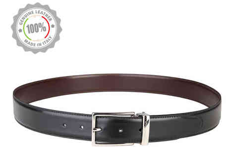 Brands Store - Calvin Klein Mens Leather Belt - Save 63%