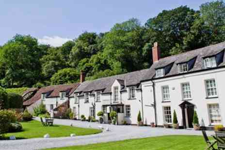Combe House Hotel - Overnight Somerset Stay with Meals - Save 57%