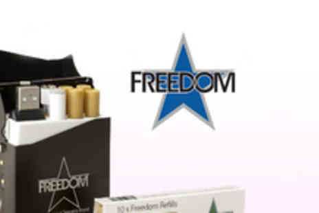 Freedom - An electronic cigarette bundle including refills equivalent to 225 cigarettes - Save 75%
