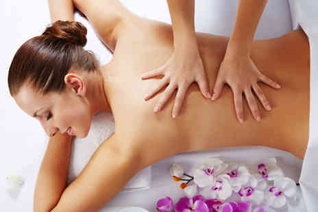 The Salon Birmingham - Back, neck & shoulder massage and an express facial  - Save 53%