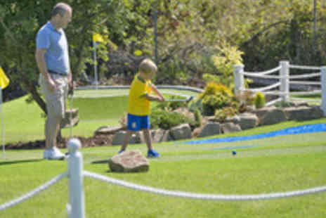Liverpool Golf Centre - Mini Golf and Driving Range Session with a Drink - Save 64%
