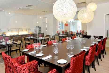 Mercure London Bloomsbury Hotel - Three Course Meal with Prosecco for Two  - Save 63%