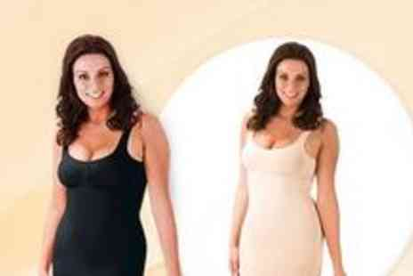 Love2Wear Lingerie - Two Control Slimming slip dresses in black and nude - Save 67%