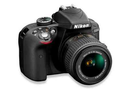 Photo Direct - Nikon D3300 Digital SLR Camera 18 to 55mm VR II Lens Kit - Save 10%