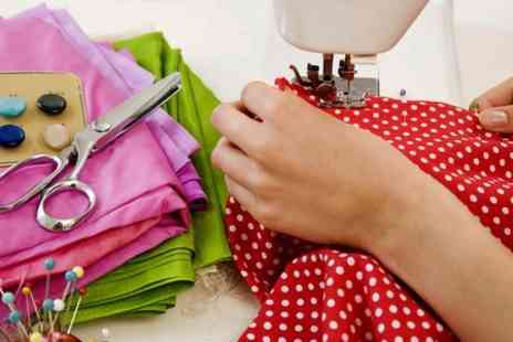 The London Sewing Room - Fabric Design or Dressmaking Workshop - Save 51%