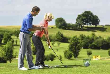 The North London Golf Academy - PGA Golf Lesson With Video Analysis - Save 66%