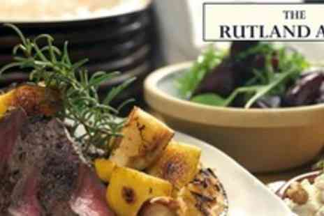 The Rutland Arms - Two Course Traditional Roast Dinner For Two - Save 63%