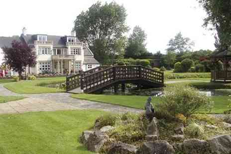 Rookery Manor - One night 4 star Stay For Two With Dinner - Save 34%