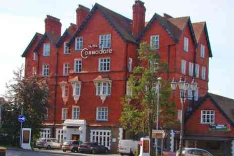 The Hotel Commodore - Two Night Stay For Two With Afternoon Tea - Save 34%