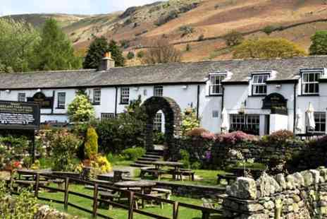 The Kings head Thirlmere - One Night Stay For Two  - Save 46%