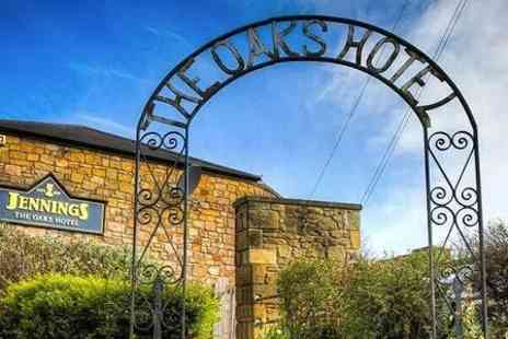 The Oaks Hotel - One Night Stay For Two With Dinner - Save 0%