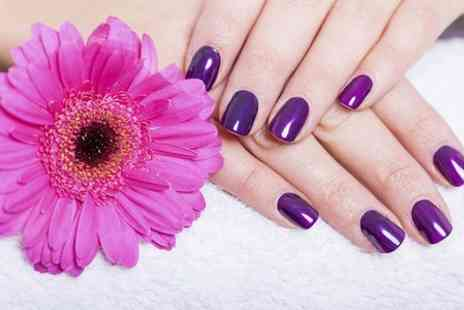 N SPA - Shellac Manicure or Pedicure or Both  - Save 46%