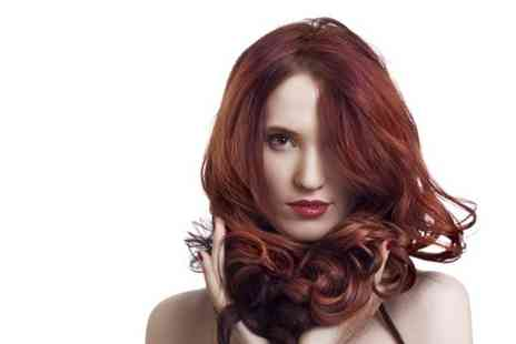 M & F Cuts - Cut and Blow Dry With Colour or Highlights  - Save 56%