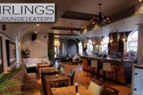 Stirlings Bar & Bistro - Dessert Tasting Platter For Two and Champagne Cocktail Each - Save 62%