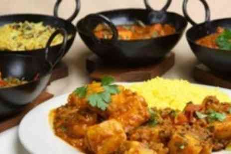 Ahmeds Curry Cafe - Two Course Indian Meal With Sides For Two - Save 55%