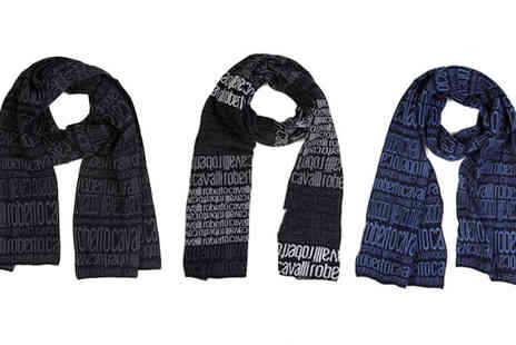 Brands Store - Roberto Cavalli Wool Blend Scarf - Save 71%