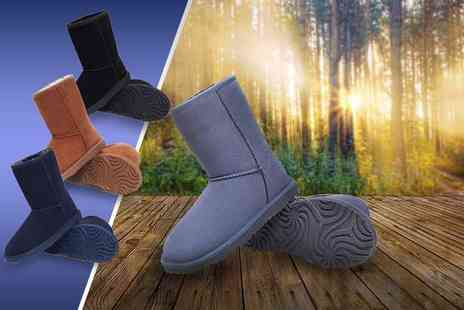 Evaniy Accessories - Pair of sheepskin and merino boots  - Save 74%