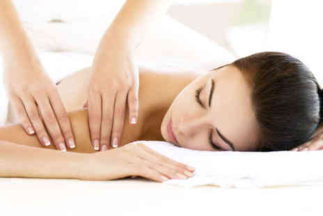 Simply Massage - Back, Neck, and Shoulder Massage with Either Thai Foot Massage  - Save 56%