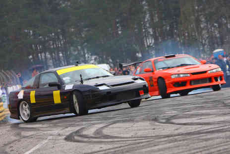 Drift Academy - Exhilarating Half Day Drifting Experience - Save 62%