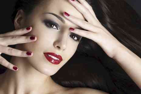 Gorgeous No1 - Facial and Gelish Manicure  - Save 63%