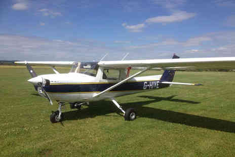 Peterborough School of Flying - One hour light aircraft flying experience with Peterborough School of Flying % - Save 49%