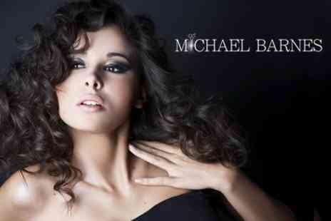 Michael Barnes - Half Head of Highlights or Keratin Hair Repair Treatment Plus Cut and Finish - Save 62%