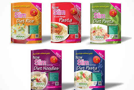 Now Slim - Now Slim Noodles, Pasta, and Rice  - Save 68%