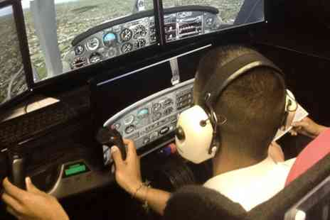 Fly By Light - 60-Minute Flight Simulator Experience - Save 51%