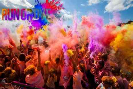 Run Or Dye - Coloured Powder 5K Run Entry Plus Goody Bag - Save 0%