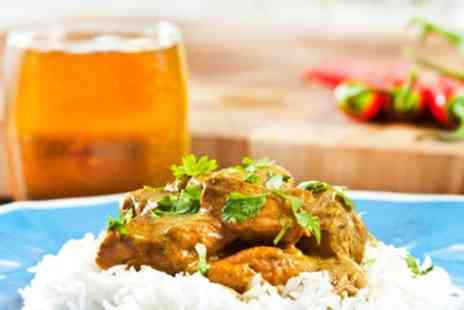 The Raj Indian Cuisine - Two Course Indian Meal With Beer For Two - Save 0%