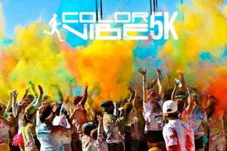 The Color Vibe - Ticket to Color Vibe Early Bird  Plus T Shirt  - Save 26%