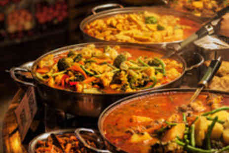 Everest World Buffet - Three Course Buffet Dining with a Glass of Wine for Two  - Save 50%