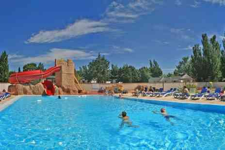 Camping Le Roussillon - Enjoy Seven nights stay in a static caravan  - Save 53%