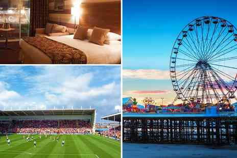 Blackpool FC Hotel - One night stay with breakfast, Prosecco and stadium tour - Save 51%