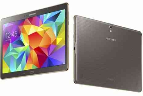 "Photo Direct - Samsung Galaxy Tab S 10.5"" Titanium Bronze Tablet Octa Core 1.9GHz 3GB Ram - Save 30%"