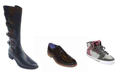 Society Footwear - £30 Spend on Mrs Marcos Mens and Ladies - Save 67%