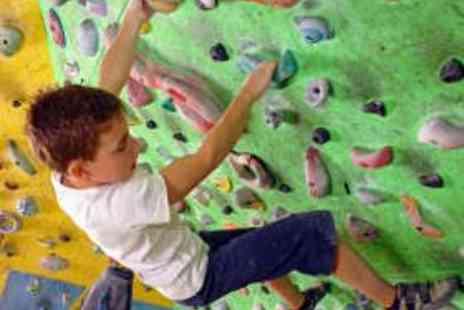 City Bloc - Family Climbing Day Including Induction - Save 65%