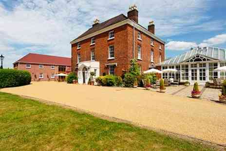 Hadley Park House Hotel  - One Night Stay For Two With Breakfast, Bubbly and Meal Credit  - Save 55%