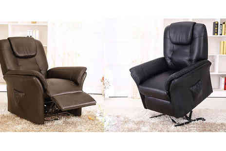 Sonic Online  - Windsor Rise & Recline Armchair - Save 53%