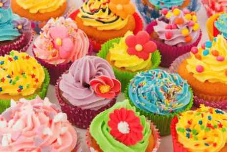 Teach Me Sugarcraft - Cupcake decorating workshop for Two - Save 0%