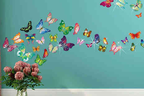kissesandcreations - Swarovski Elements Decorative Wall Sticker Nine Designs to Choose From - Save 70%