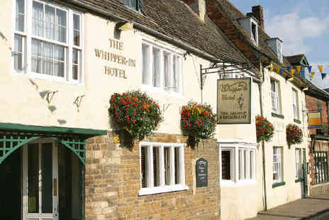 Brook Whipper In Hotel - One Night Rutland Countryside Retreat, with Breakfast and a Bottle of Wine If Dining - Save 50%