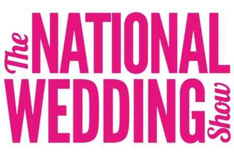 National Wedding Show - Entry to The National Wedding Show   - Save 47%