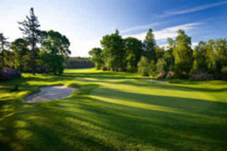 Slaley Hall - Two championship standard golf courses- Save 70%