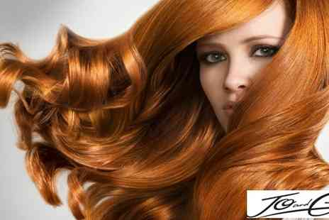 Jo and Cass Morecambe - Cut, colour and condition - Save 50%