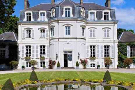 Chateau Hotel - One night French Chateau Stay nr Calais with Upgrade & Drinks - Save 29%
