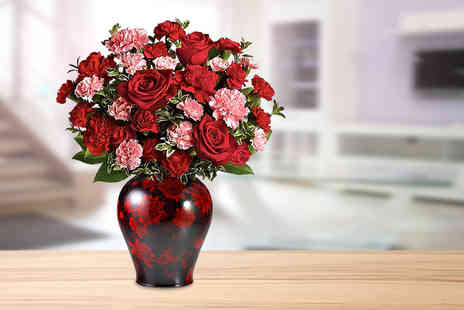 Posy Bouquets - Rose and carnation bouquet - Save 60%