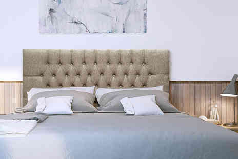 Mattress Next Day - Double Chesterfield headboard - Save 58%