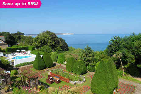 Luccombe Hall Country House Hotel - Relaxation and Cliff top Views in Shanklin - Save 58%