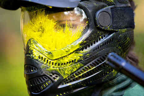 Nationwide Paintball - Paintball Pass for up to 10  - Save 93%